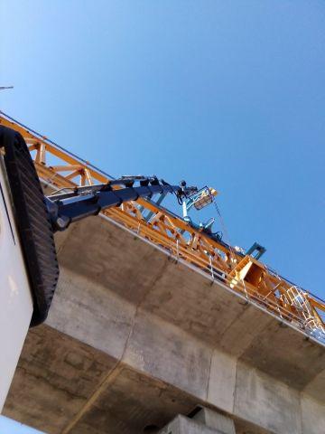 Intervento al Viadotto Scardina Autostrada A18 Siracusa -Gela